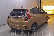 Хэтчбек гибрид HONDA FIT HYBRID кузов GP5 модификация Hybrid L Package гв 2014 пробег 48 т.км коричн Москва
