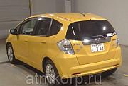 Хэтчбек гибрид HONDA FIT HYBRID кузов GP1 модификация Hybrid Navi гв 2011 пробег 105 т.км желтый цит Москва