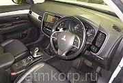 Кроссовер гибрид 3 поколение MITSUBISHI OUTLANDER PHEV кузов GG2W гв 2013 4WD пробег 108 т.км белый Москва