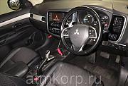 Кроссовер гибрид 3 поколение MITSUBISHI OUTLANDER PHEV кузов GG2W гв 2013 4WD пробег 84 т.км серый Москва