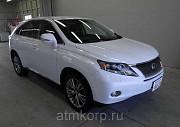 Автомобиль кроссовер гибрид LEXUS  RX450h цвет белый жемчуг Москва