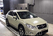 Кроссовер гибрид SUBARU XV кузов GPE модификация Hybrid 2.0i-L Eyesite 2013 4WD пробег 69 т.км слоно Москва