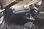 Седан гибридный среднего класса MAZDA AXELA кузов BYEFP 3 поколение пробег 141 тыс км цвет черный Москва