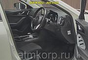Седан гибридный среднего класса MAZDA AXELA кузов BYEFP 3 поколение пробег 94 тыс км цвет белый Москва