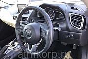 Седан гибридный среднего класса MAZDA AXELA кузов BYEFP 3 поколение пробег 67 тыс км цвет темно-сини Москва