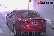 Седан гибридный среднего класса MAZDA AXELA кузов BYEFP 3 поколение пробег 31 тыс км цвет винный Москва