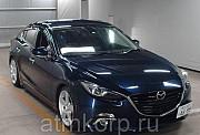 Седан гибридный среднего класса MAZDA AXELA кузов BYEFP 3 поколение пробег 52 тыс км цвет фиолетовый Москва