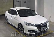 Седан гибрид среднего класса HONDA ACCORD кузов CR6 гв 2014 пробег 19 тыс км цвет белый перламутр Москва