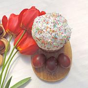 Пасхальные подносы для кулича и яиц Москва