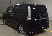 Минивэн 8-ми мест премиум класса люкс гибрид NISSAN SERENA S-HYBRID пробег 49 тыс км цвет черный Москва