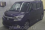 Минивэн гибрид 3 поколение SUZUKI SOLIO класса компактвэн кузов MA36S гв 2015 4WD пробег 47 т.км пур Москва