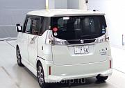 Минивэн гибрид 3 поколение SUZUKI SOLIO BANDIT класса компактвэн гв 2015 4WD пробег 47 т.км цвет пер Москва