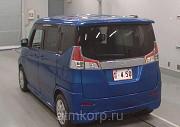 Минивэн гибрид 3 поколение SUZUKI SOLIO класса компактвэн кузов MA36S гв 2015 пробег 49 тыс км цвет  Москва