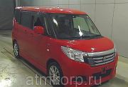 Минивэн гибрид 3 поколение SUZUKI SOLIO класса компактвэн кузов MA36S гв 2015 пробег 7 тыс км цвет к Москва