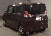 Минивэн гибрид 3 поколение SUZUKI SOLIO класса компактвэн кузов MA36S гв 2015 пробег 8 тыс км цвет к Москва