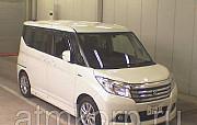 Минивэн гибрид 3 поколение SUZUKI SOLIO класса компактвэн кузов MA36S гв 2015 пробег 40 т.км цвет бе Москва