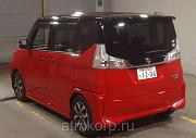 Минивэн гибрид 3 поколение SUZUKI SOLIO BANDIT класса компактвэн гв 2015 пробег 30 т.км цвет КРАСНЫЙ Москва