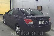 Седан 4 поколение SUBARU IMPREZA G4 кузов GJ7 гв 2012 4WD пробег 81 тыс км цвет коричневый Москва