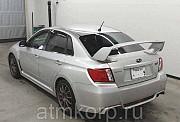 Седан спортивный класс рестайлинг Subaru Impreza WRX STI кузов GVB гв 2011 4WD пробег 82 т.км сереб Москва