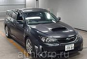Седан спортивный класс рестайлинг Subaru Impreza WRX STI кузов GVB гв 2012 4WD пробег 72 т.км серый Москва
