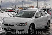 Спортивный седан MITSUBISHI GALANT FORTIS гв 2013 полный привод 4 wd пробег 128 т.км цвет белый Москва