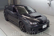 Седан спортивный класс рестайлинг Subaru Impreza WRX STI кузов GVF гв 2012 4WD пробег 41 т.км серый Москва