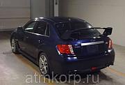 Седан спортивный класс рестайлинг Subaru Impreza WRX STI кузов GVF гв 2011 4WD пробег 80 т.км синий Москва