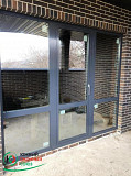 Изготовление, установка алюминиевых окон, дверей. Краснодар