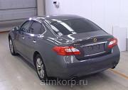 Седан NISSAN FUGA цвет коричневый Москва