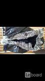 Дубленка парка новая мужская кожа черная 50 52 54 l xl xxl мех чернобурка овчина верхняя одежда курт Москва