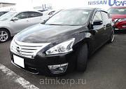 Седан премиум класса люкс NISSAN TEANA кузов L33 пробег 58 тыс км цвет черный алмаз Москва
