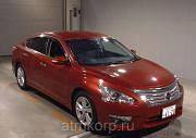 Седан премиум класса люкс NISSAN TEANA кузов L33 пробег 27 тыс км цвет винный Москва
