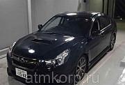Седан рестайлинг SUBARU LEGACY B4 кузов BMG 5-е поколение гв 2012 turbo 4WD пробег 92 т.км фиолетовы Москва