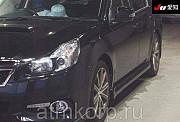 Седан спортивный премиум рестайлинг SUBARU LEGACY B4 кузов BMG гв 2013 turbo 4WD пробег 84 т.км черн Москва