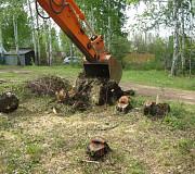 Пень выкорчевать Медовка, измельчение пней в Медовке и по области Воронеж