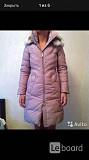 Пуховик куртка новая ermanno cervino италия 44 46 s m мех волк кайот белый разноцветный цвет розовый Москва