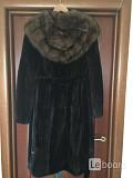 Шуба норка новая luini royal mink supreme quality ranched греция капюшон соболь размер 46 44 m s/m д Москва