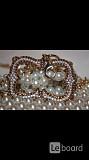 Пояс цепи новый roberto cavalli class италия стразы сваровски swarovski камни кристаллы белые оранже Москва