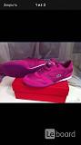 Кроссовки кеды новые lacoste 39 размер замша текстиль цвет розовый фукси подошва легкая обувь женска Москва