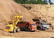 Продажа и доставка строительного песка. Волгоград