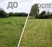Покос травы Медовка, косим траву в Медовке в Воронежской облати Воронеж