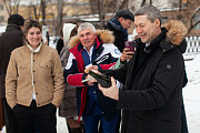 Сабраж - Открываем Бутылку Шампанского Саблей Москва