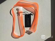 Пояс ремень новый atos lombardini италия оранжевый оранж силикон аксессуары женские на джинсы брюки Москва