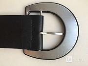 Пояс ремень черный женский широкий кожзам аксессуар мода топ мода стиль бренд тред 44 46 42 48 Москва