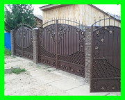 Изготовим для Вас кованые ворота, ворота распашные, откатные. Москва