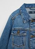 Куртка новая джинсовая mango на мальчика синяя 146 152 см xs xxs xxxs детская Москва