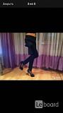 Брюки новые miss miss valentina s 42 44 черные лосины ткань плотная мягкая стретч женские по фигуре Москва