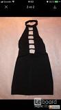 Платье мини 44 46 м черное стрейч новое сарафан туника под чулки футляр по фигуре вечернее стильное Москва