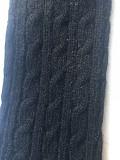 Перчатки длинные шерсть чёрные митенки вязаные женские зима аксессуары высокие м 44 46 42 48 40 s l Москва