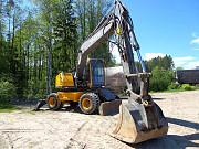Колесный экскаватор Volvo 160, макс. опции, 7000 м/ч Санкт-Петербург